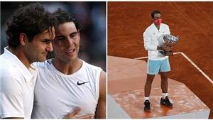 Federer nói về Nadal: 'Đây là một trong những thành tích vĩ đại nhất của thể thao'
