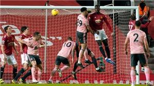 MU 1-2 Sheffield: Thua đau sân nhà, 'Quỷ đỏ' lỡ cơ hội giành lại ngôi đầu