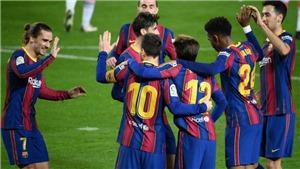 Barcelona 5-1 Alaves: Messi và Trincao lập cú đúp, Barca thắng trận thứ 7 liên tiếp
