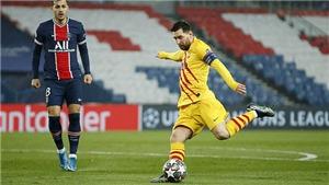 PSG 1-1 Barcelona (chung cuộc 5-2): Messi lập siêu phẩm nhưng đá hỏng 11m, Barcelona bị loại
