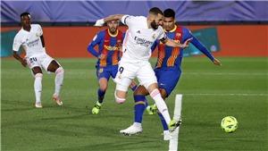Real Madrid 2-1 Barcelona, Benzema lập siêu phẩm đánh gót, Fan đòi trao QBV
