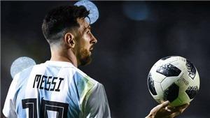 World Cup như khẩu súng gí vào đầu Messi
