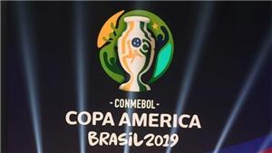 Lịch thi đấu Copa America 2019: Venezuela đấu với Argentina, Colombia vs Chile