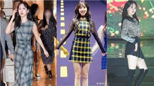 Những lần Nayeon Twice đẹp 'điên đảo' với đồ kẻ caro
