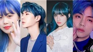 Sao K-pop 'đốn tim' fan với màu tóc xanh dương: BTS, EXO, NCT