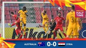 U23 Australia 1-0 Syria: Xem lại bàn thắng Vàng đưa U23 Australia cận kề tấm vé Olympic