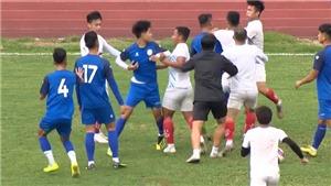 Bóng đá Việt Nam hôm nay: Xô xát trong trận giao hữu giữa Nam Định và Phú Thọ