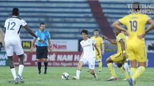 Bóng đá Việt Nam hôm nay: HAGL có thành tích tệ khi đối đầu SLNA