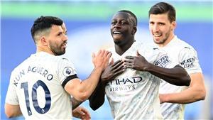 Kết quả bóng đá Leicester 0-2 Man City: Mendy và Jesus mang về 3 điểm cho Man City