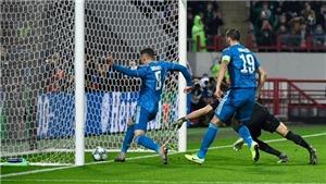 Lokomotiv 1-2 Juventus: Ronaldo thất vọng vì bị Ramsey 'cướp' bàn thắng từ đá phạt đầu tiên ở Juventus