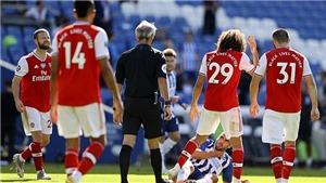 Arsenal thua từ Man City đến Brighton: Vì đâu nên nỗi?