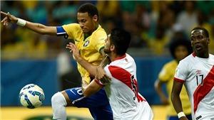 Peru 2-4 Brazil: Neymar lập hat-trick, Brazil dẫn đầu vòng loại World Cup