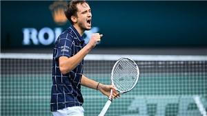 Đánh bại Nadal, Medvedev đấu Dominic Thiem ở chung kết ATP Finals