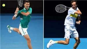 Trực tiếp chung kết Australian Open 2021: Kinh nghiệm Djokovic hay sức trẻ Medvedev?