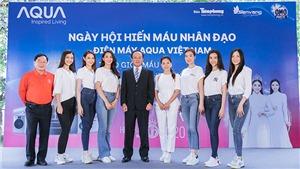 Hoa hậu Đỗ Mỹ Linh, Tiểu Vy cùng 200 tình nguyện viên hiến máu cứu người