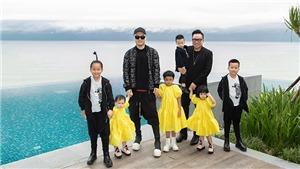 NTK Đỗ Mạnh Cường đưa 6 con cùng hội bạn thân nghỉ dưỡng ở khách sạn 'siêu sang'