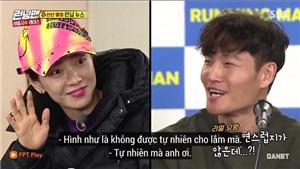 'Running man' tập 434: Song Jihyo bất ngờ 'thả thính' Kim Jongkook trên sóng truyền hình