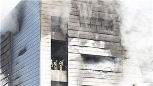 Hàn Quốc: Số người thiệt mạng trong vụ hỏa hoạn tại công trường xây dựng tăng mạnh