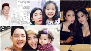 Showbiz 'hot' trong ngày: Quang Hà bị kiện; chồng Hải Băng xuống tóc, cầu bình an khi vợ mang thai con thứ ba