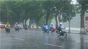 Thời tiết đêm 24 ngày 25/5: Nhiều vùng trên cả nước tiếp tục có mưa dông