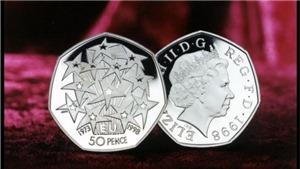 Anh 'tạm dừng' sản xuất đồng tiền kỷ niệm Brexit