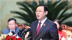 Toàn văn bài phát biểu khai mạc Đại hội đại biểu lần thứ XVII Đảng bộ TP Hà Nội của Bí thư thành ủy Hà Nội Vương Đình Huệ