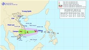 Bão số 13 đi vào đất liền các tỉnh từ Hà Tĩnh đến Thừa Thiên - Huế và suy yếu thành áp thấp nhiệt đới