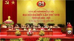 Khai mạc Đại hội Đảng bộ thành phố Hà Nội lần thứ XVII