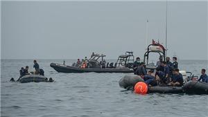 Vụ máy bay rơi tại Indonesia: Xác định được vị trí của 2 hộp đen