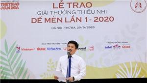 Toàn văn bài phát biểu của Trưởng ban tổ chức Giải thưởng thiếu nhi Dế Mèn lần 1-2020