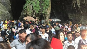 Hà Nội: Đảm bảo an toàn cho lễ hội chùa Hương và đền Sóc