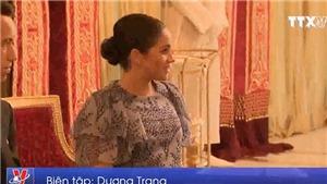 VIDEO: Thắp sáng đèn chào mừng em bé Hoàng gia Anh