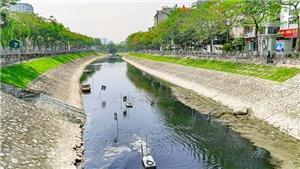 UBND thành phố Hà Nội thông tin về việc 'xử lý ô nhiễm sông Tô Lịch'
