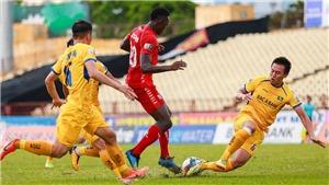 Kết quả bóng đá SLNA 1-0 Hải Phòng: Định đoạt phút cuối
