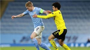 Trực tiếp K+, K+PC: Man City vs Dortmund. Trực tiếp bóng đá Tứ kết cúp C1 châu Âu