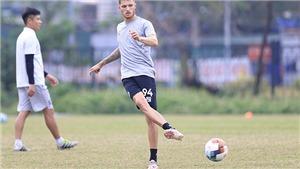 CLB Hà Nội sẽ đá thế nào với cặp tiền đạo Geovane-Bruno?