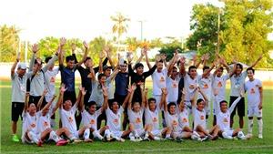 Trẻ Quảng Nam thăng hạng Nhì 2021