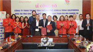 Trung tâm California tài trợ 600 triệu đồng cho đoàn thể thao Việt Nam tham dự SEA Games 30