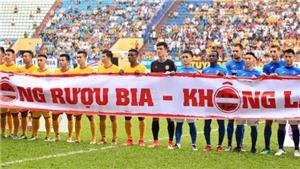 Khi bóng đá thể hiện trách nhiệm với xã hội…
