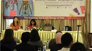 Indonesia tích cực chuẩn bị cho Đại hội Thể thao Người khuyết tật châu Á 2018