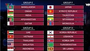 Lịch thi đấu vòng loại World Cup 2022 bảng G: Việt Nam đấu với Thái Lan