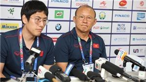 """HLV Park Hang Seo: """"Trận đấu với Indonesia quan trọng, nhưng chúng tôi cần nghỉ ngơi đã"""""""