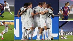 Video clip bàn thắng Barcelona vs Bayern Munich