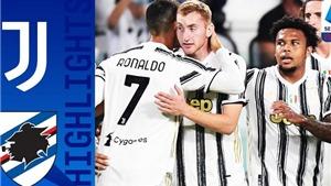 Video clip bàn thắng trận Juventus 3-1 Sassuolo