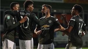 Lịch thi đấu cúp Liên đoàn Anh vòng 4: MU tiếp tục gặp đối thủ yếu