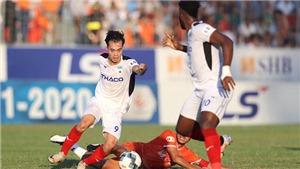 Bảng xếp hạng V-League 2021 vòng 9: Thắng Nam Định, HAGL xây chắc ngôi đầu