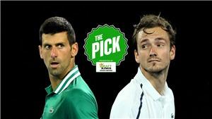 Xem trực tiếp chung kết tennis Djokovic-Medvedev ở đâu, kênh nào?