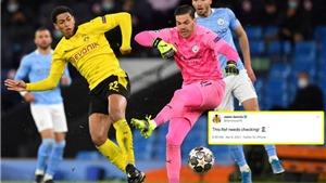 Tranh cãi: Dortmund đã bị cướp trắng một bàn thắng trước Man City?