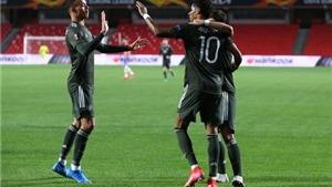 Kết quả tứ kết cúp C2/Europa League: Granada vs MU.Arsenal vs Slavia Praha