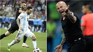 Argentina 0-3 Croatia: Sampaoli nhận hoàn toàn trách nhiệm, Aguero công khai 'bật' thầy